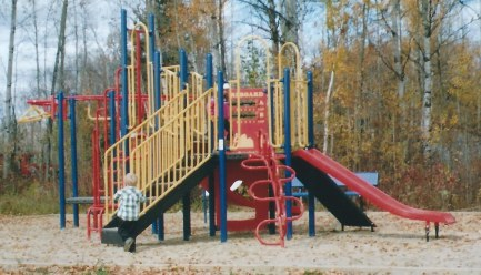 Outdoor Play Structure Photo