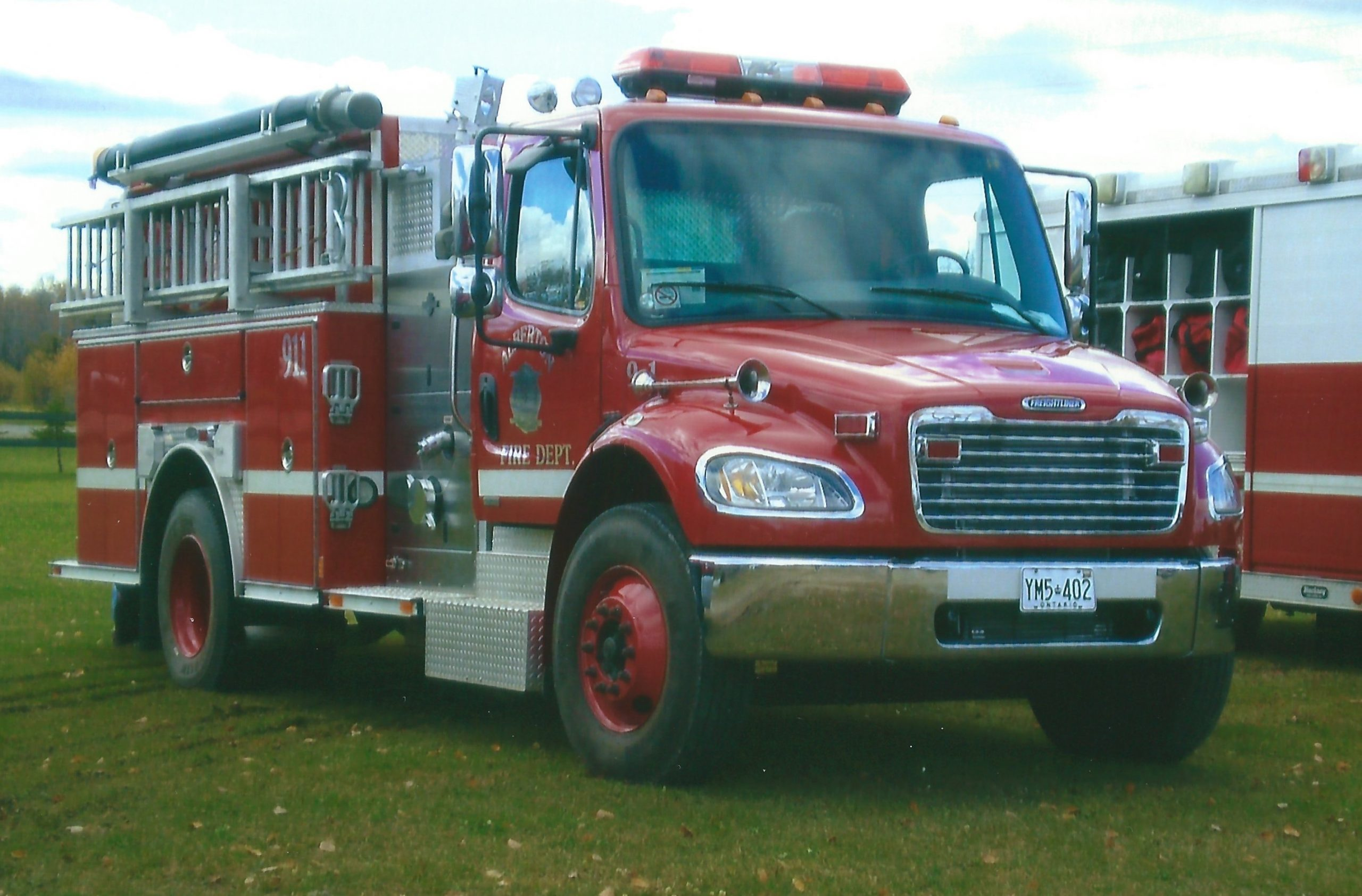Township Of Alberton Fire Truck Image